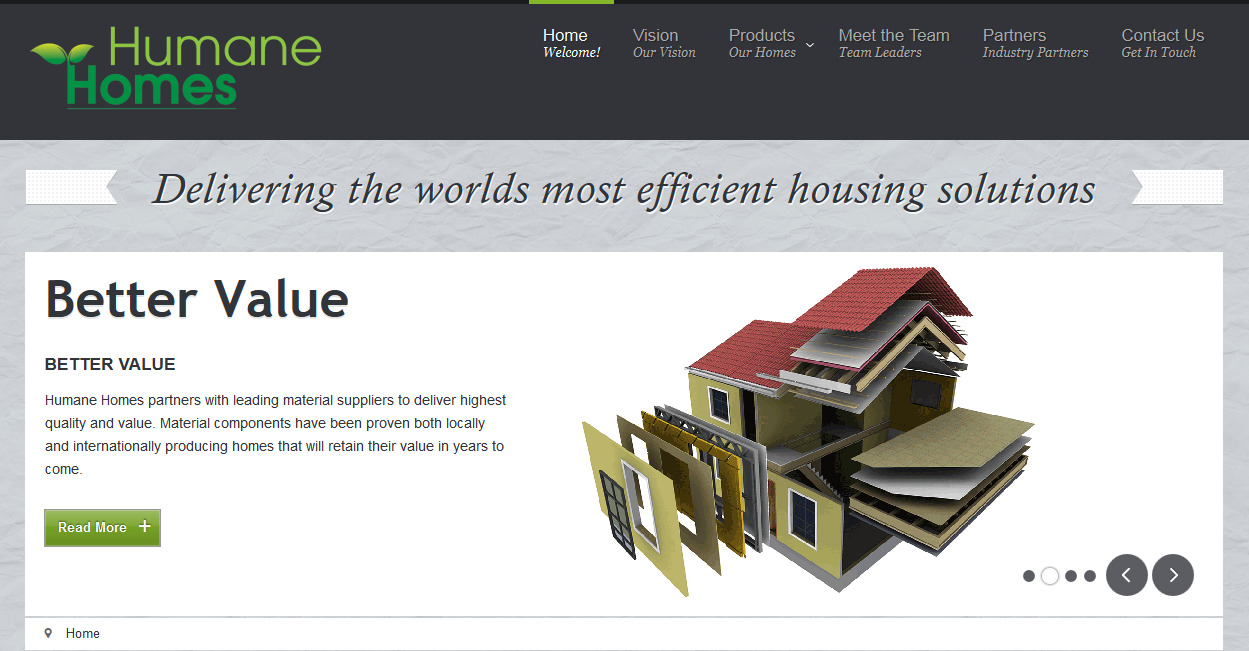 Humane Homes Efficient Housing Solutions