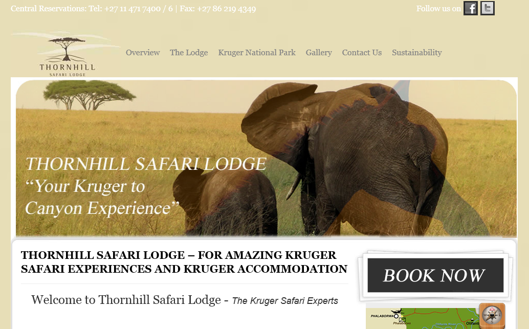 Thornhill Safari Lodge Kruger Safari Experts